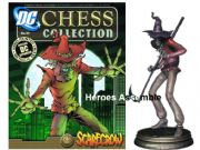 DC Chess Figurine Collection #13 Scarecrow Black Pawn Eaglemoss